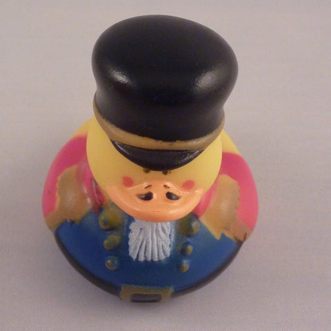 Old Fashioned Soldier Duck Red/Blue by Rubber Duckies