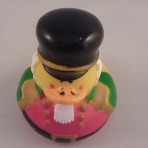 Old Fashioned Soldier Duck Red/Green by Rubber Duckies