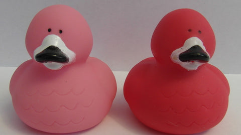 Flamingo Duck by Rubber Duckies