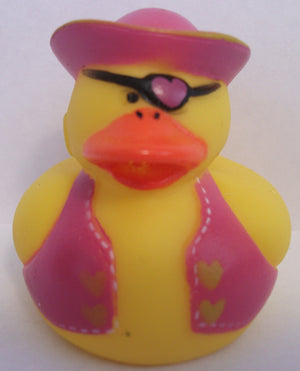 Pirate Duck - Girl Captain by Rubber Duckies