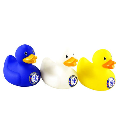 Chelsea Bath Time Rubber Duck Set -3PK