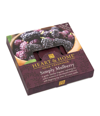 Simply Mulberry - Tealights - From Heart and Home