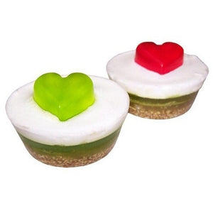 Cup Cake Soaps - Apple Heart