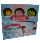 Small Cupcake Bath Fizz Gift Set Of Three In A Gift Box - Gift Of Beauty