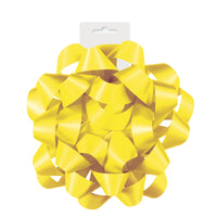 "1  Satin Gift Bow 6"" - Sunflower Yellow"