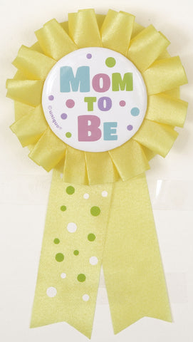 "1  ""Mom To Be"" Award Ribbon"