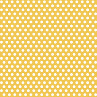 1  Gift Wrap Roll - Sunflower Yellow Dots