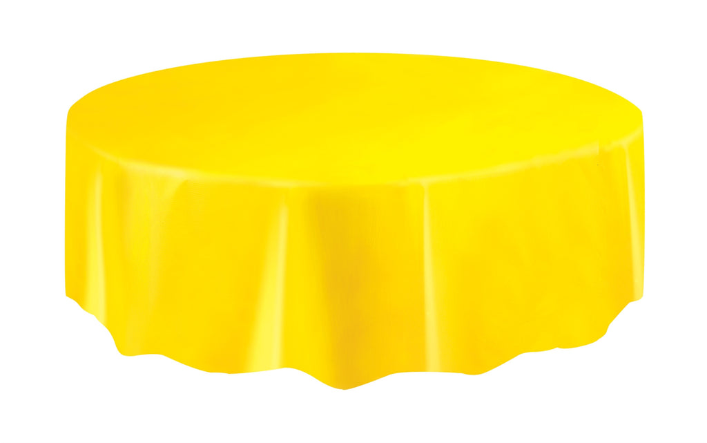 1  Sunflower Yellow Round Tablecover
