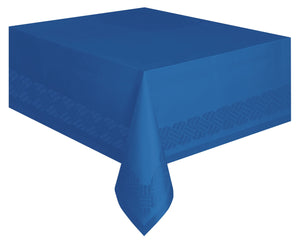 1  Royal Blue Paper-Poly Tablecover
