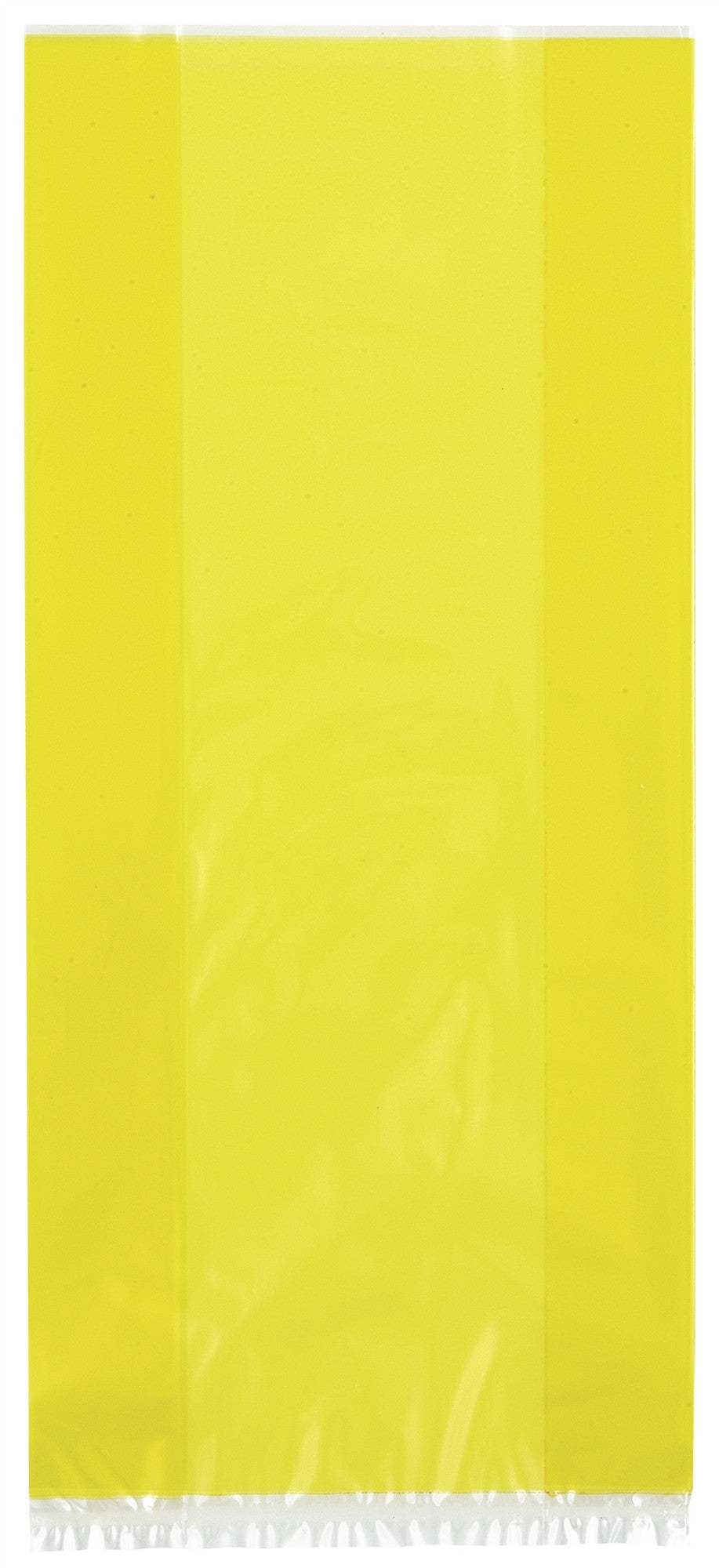 30  Cello Bags - Yellow