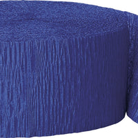 1  Crepe Streamer 81 Ft. - Royal Blue