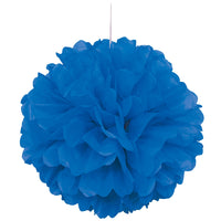 "Puff Decor 16"" - Royal Blue"