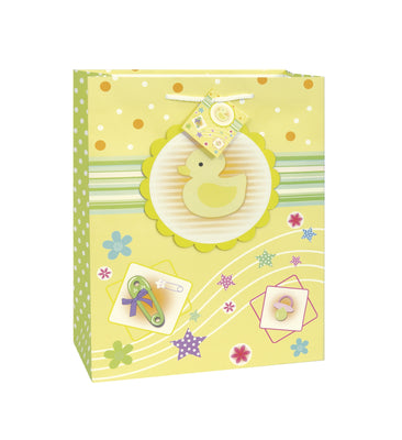 1  Baby Ducky Pop-Out Gift Bag - Super Jumbo