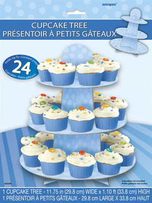 1  Cupcake Stand - Blue