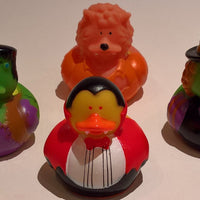 Halloween Costume Rubber Duckies - Pack of 4 Ducks