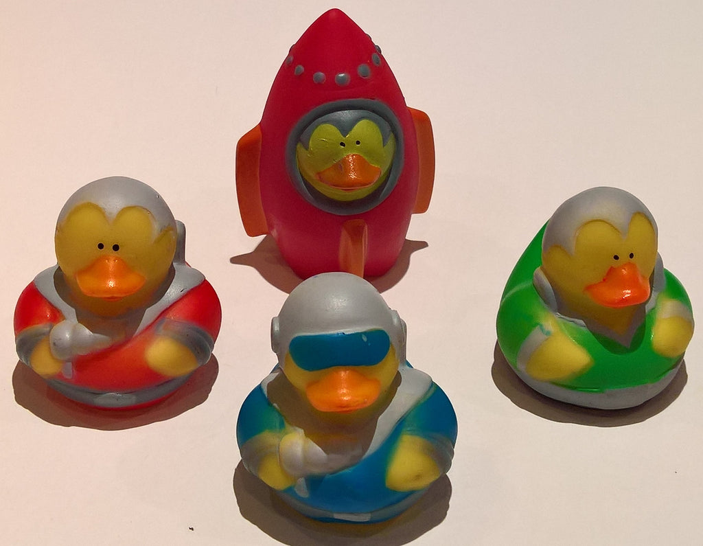 Space Explorer Rubber Duckies - Pack of 24 Ducks