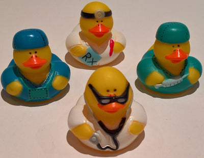 Doctor Rubber Duckies - Pack of 12 Ducks