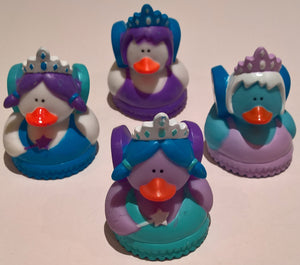 Winter Fairy Rubber Duckies - Pack of 12 Ducks