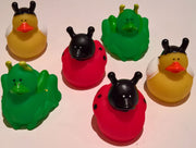 Insect Rubber Duckies - Pack of 6 Ducks
