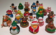 Christmas Rubber Ducky Assortment - Pack of 10 Ducks