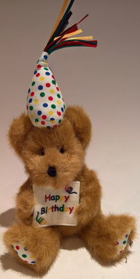 Happy B. Bear - Genuine Boyds Bear Collectible Teddy