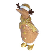 DCUK Dinky Ducks - Gold Reindeer Duck - Xmas 2019
