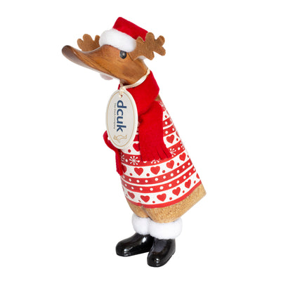 DCUK Ducklings - Christmas Reindeer Heart Jumper