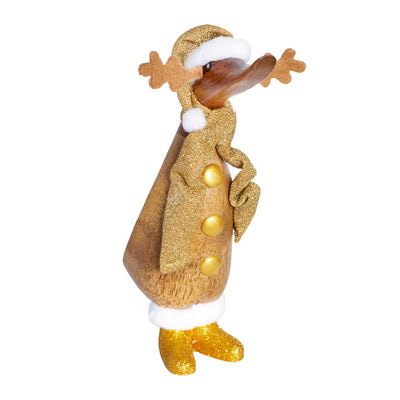 DCUK Ducklings - Christmas Gold Sparkly Reindeer