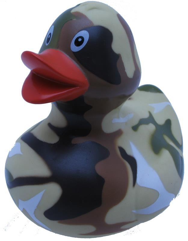 Camouflage Rubber Duck From Yarto