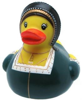 Anne Boleyn Rubber Duck From Yarto