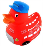 London Bus Rubber Duck From Yarto
