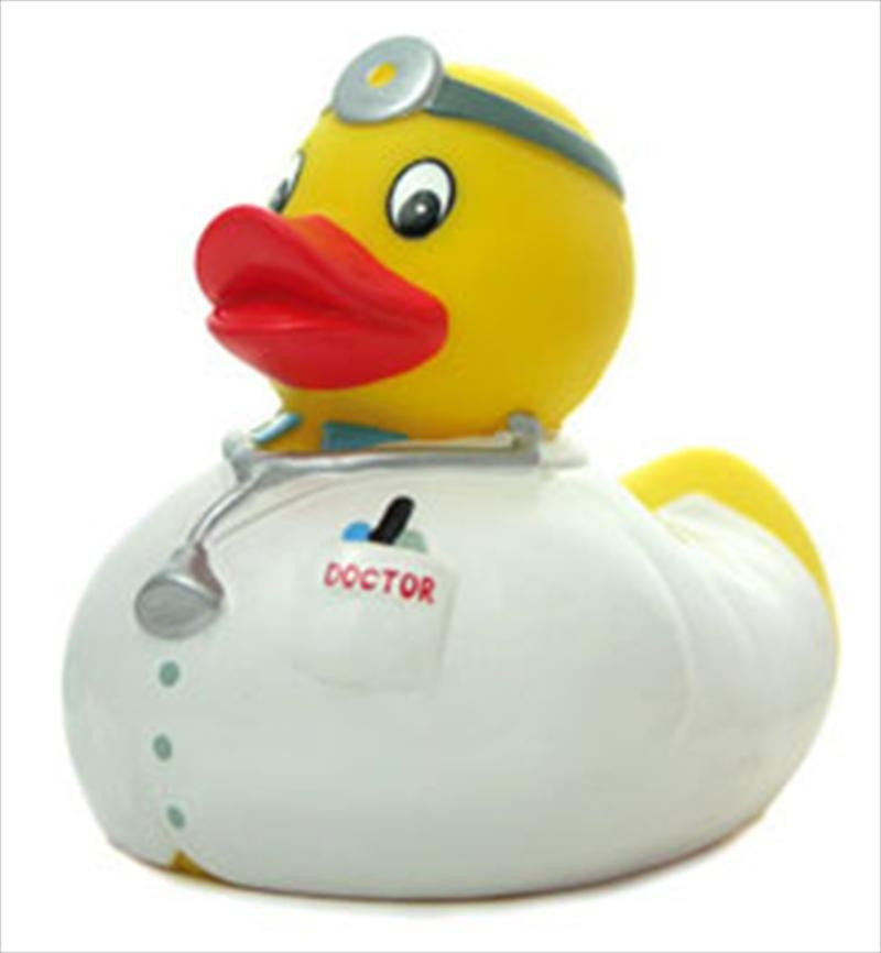 Doctor Rubber Duck From Yarto