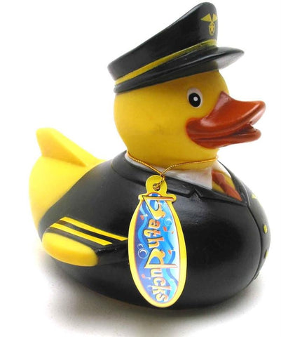 Modern Pilot Rubber Duck From Yarto