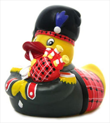 Scotsman Piper Rubber Duck From Yarto