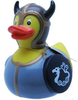Viking Rubber Duck From Yarto