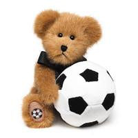 B.B. Soccer - Genuine Boyds Bear Collectible Teddy