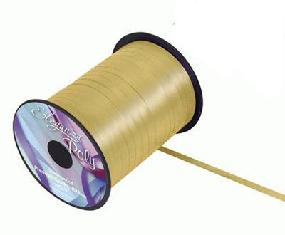5mm Curling Ribbon - Gold No.35 by Eleganza - 500yds