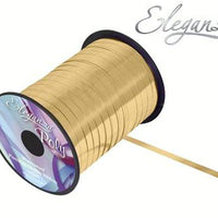5mm Curling Ribbon - Metallic Gold by Eleganza - 250yds