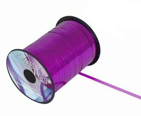 5mm Curling Ribbon - Metallic Fuchsia by Eleganza - 250yds