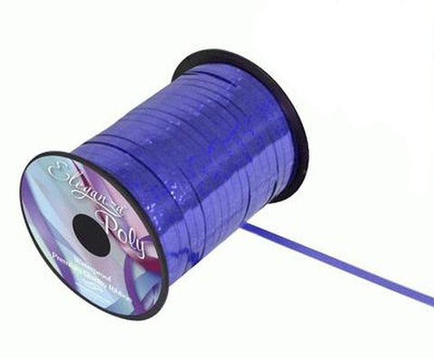 5mm Curling Ribbon - Holographic Royal Blue by Eleganza - 250yds