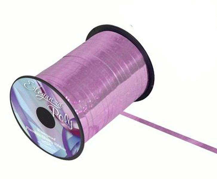 5mm Curling Ribbon - Holographic Lt Pink by Eleganza - 250yds