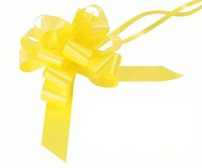 30mm Pull Bow - Yellow No.11 by Eleganza