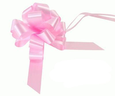 30mm Pull Bow - Lt.Pink No.21 by Eleganza