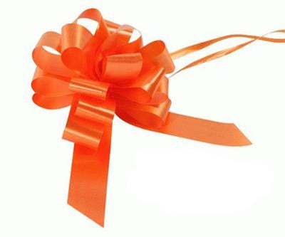 30mm Pull Bow - Orange No.04 by Eleganza