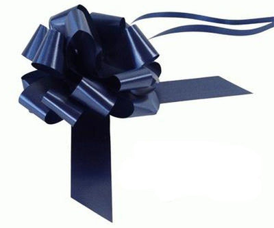 30mm Pull Bow - Navy Blue No.19 by Eleganza