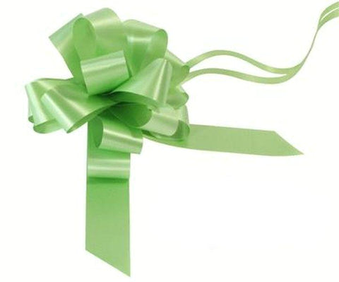 30mm Pull Bow - Lime Green No.14 by Eleganza
