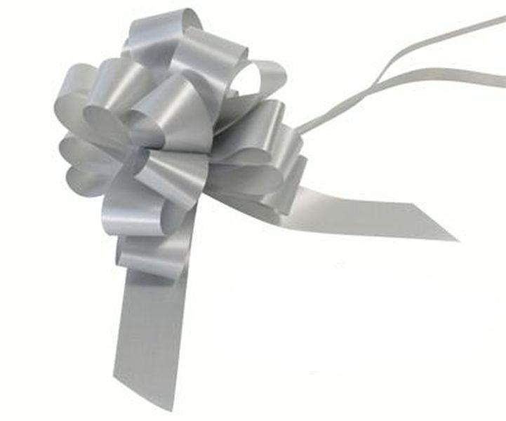 30mm Pull Bow - Silver No.24 by Eleganza