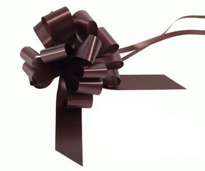 30mm Pull Bow - Chocolate No.58 by Eleganza