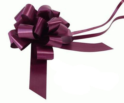 30mm Pull Bow - Aubergine No.23 by Eleganza