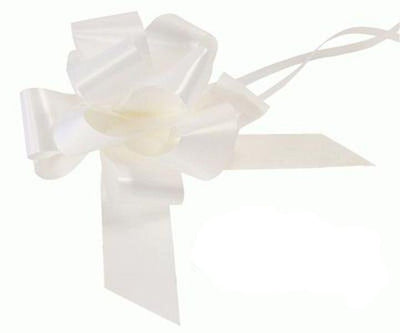 50mm Pull Bow - White No.01 by Eleganza